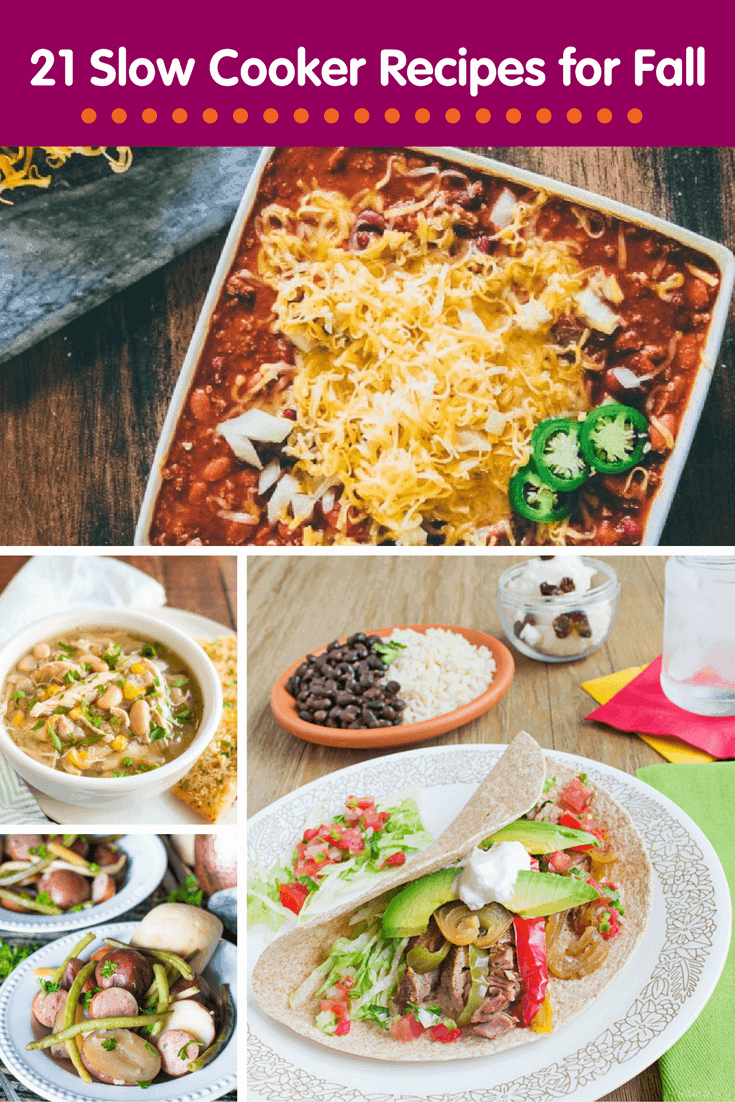 21 Slow Cooker Recipes for Fall