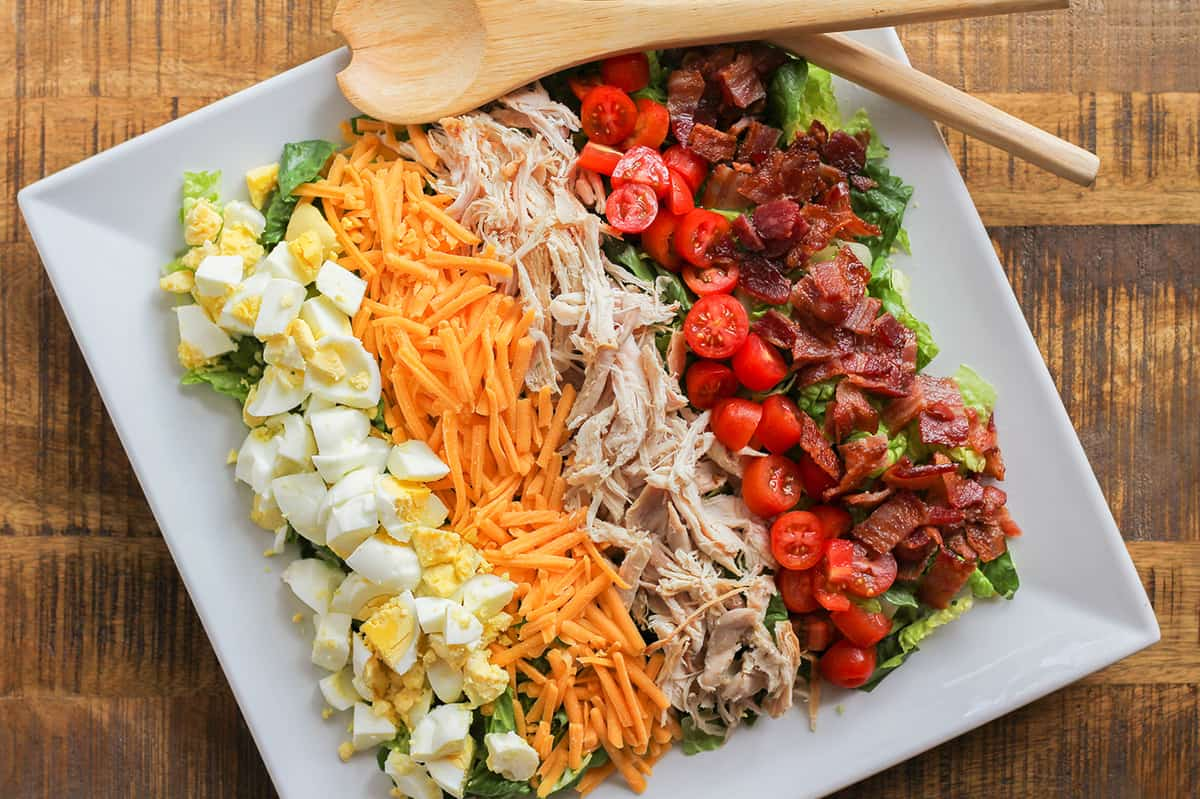 Easy Chopped Cobb Salad