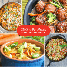 25 Healthy One Pot Meals to Get Dinner on the Table Quickly