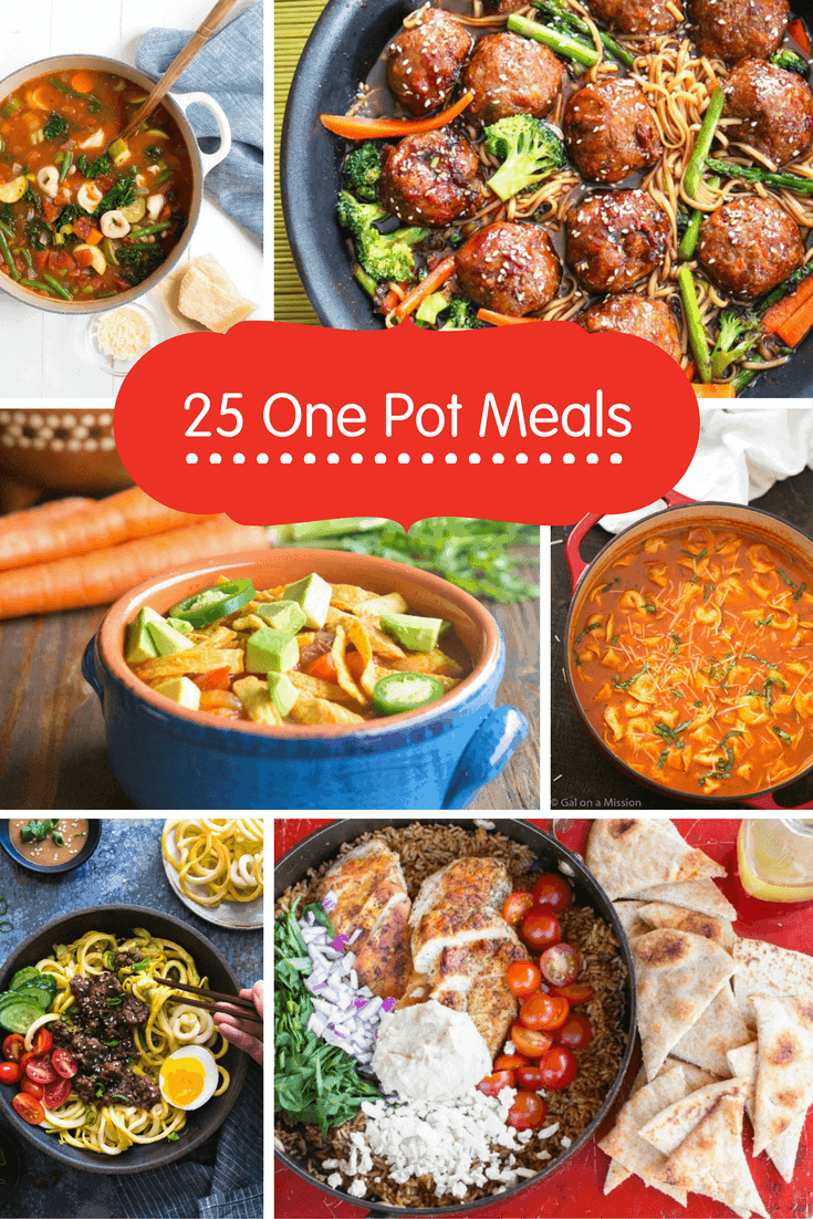 25 Healthy One-Pot Meals to Get Dinner on the Table Quickly