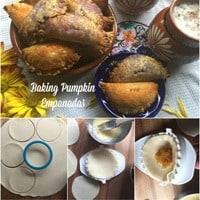 Pumpkin Empanadas for Día de Muertos