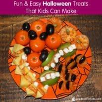 Fun & Easy Halloween Treats That Kids Can Make