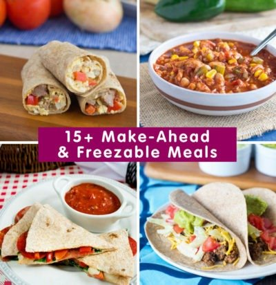 15+ Make-Ahead & Freezable Meals for the Busy Holiday Season