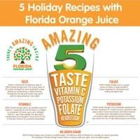 5 Holiday Recipes with Florida Orange Juice