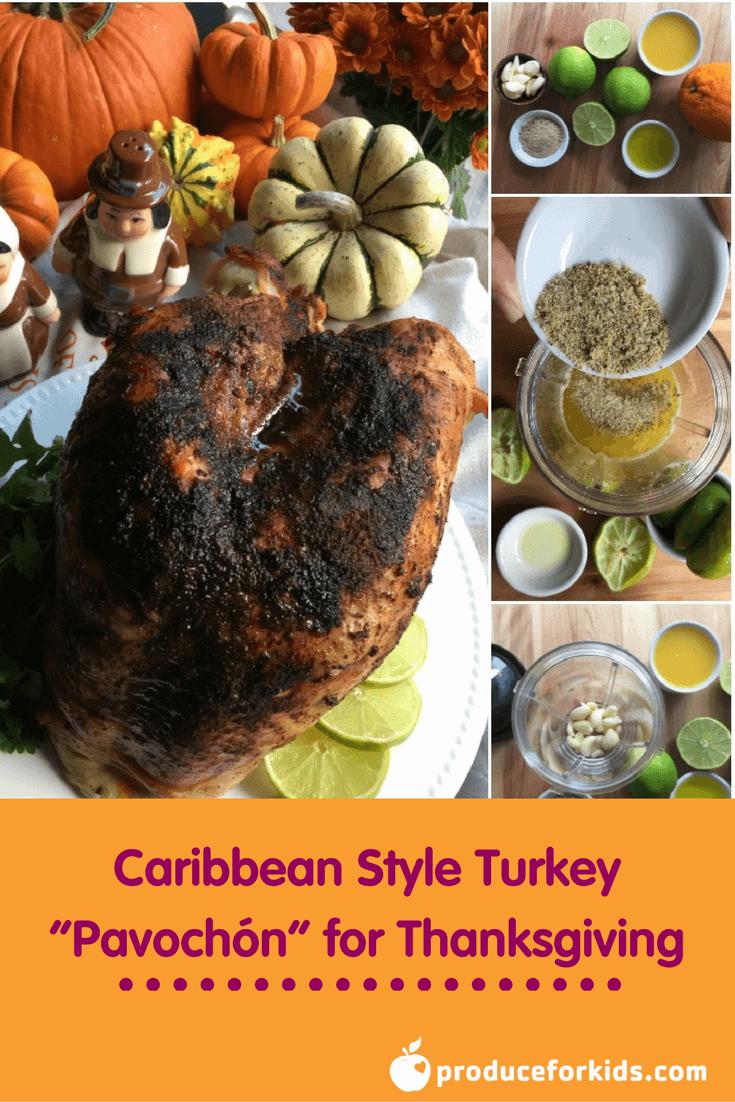 "Caribbean Style Turkey ""Pavochón"" for Thanksgiving"