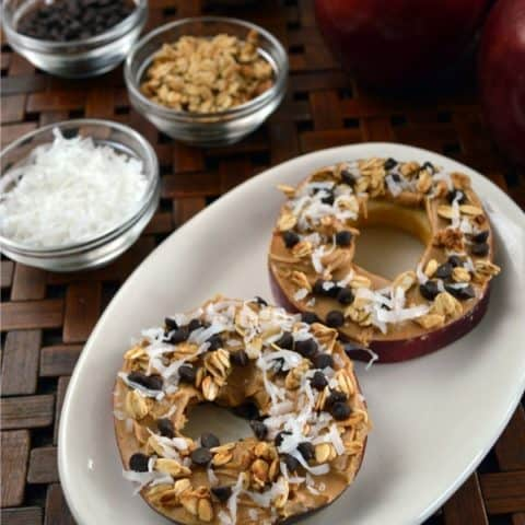 Healthy Apple Donuts