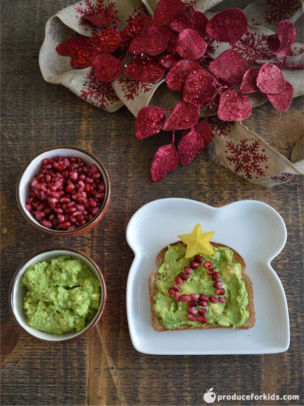 Holiday Avocado Toast