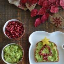 holiday avocado toast pin