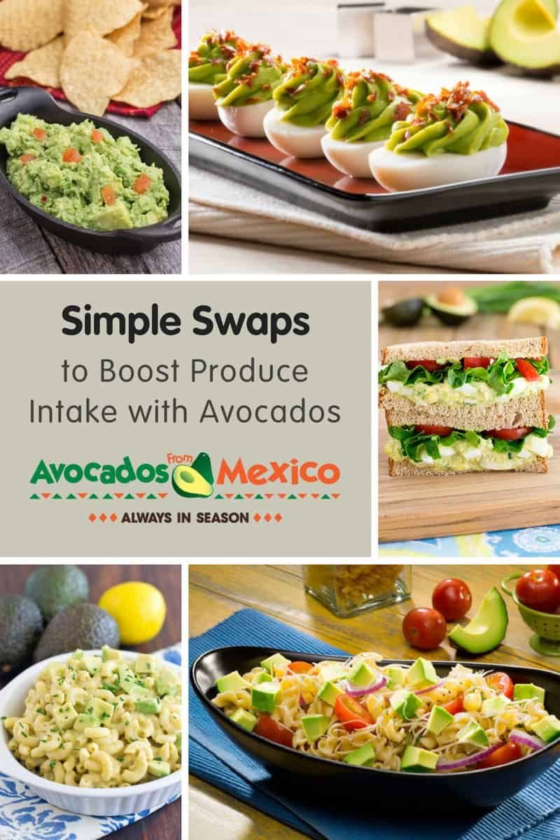 Simple Swaps to Boost Produce Intake with Avocados