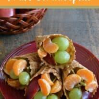 thanksgiving fruit cornucopias pin