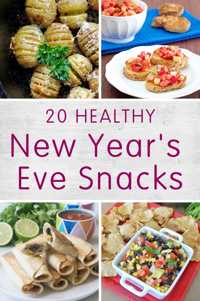 20 Healthy New Year S Eve Party Snacks Appetizers Produce For Kids