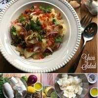 Yuca Salad for Christmas