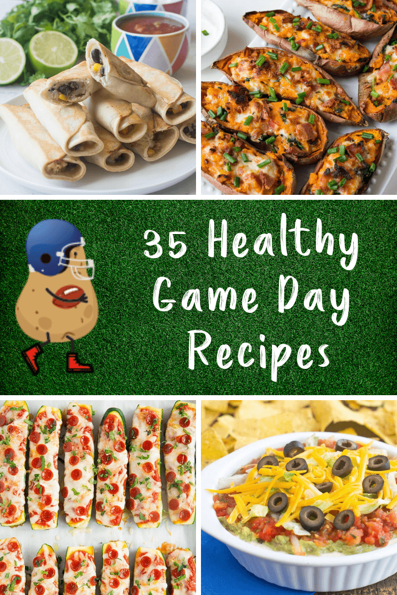35 Healthy Game Day Recipes Produce For Kids