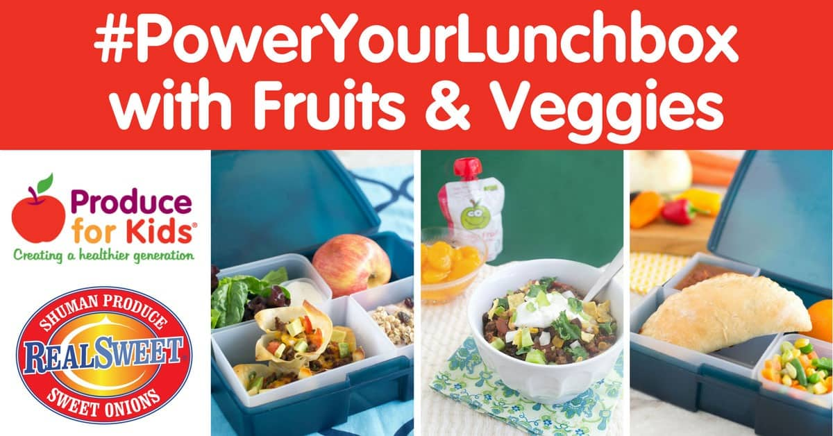 #PowerYourLunchbox with Fruits & Veggies