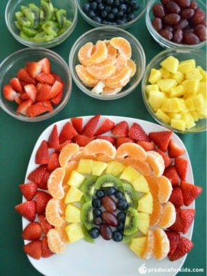 how to cut kiwi for fruit tray