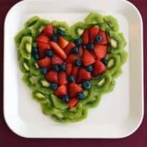 Valentine's Day Fruit Tray