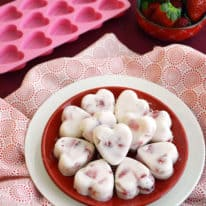 Strawberry & Yogurt Bites
