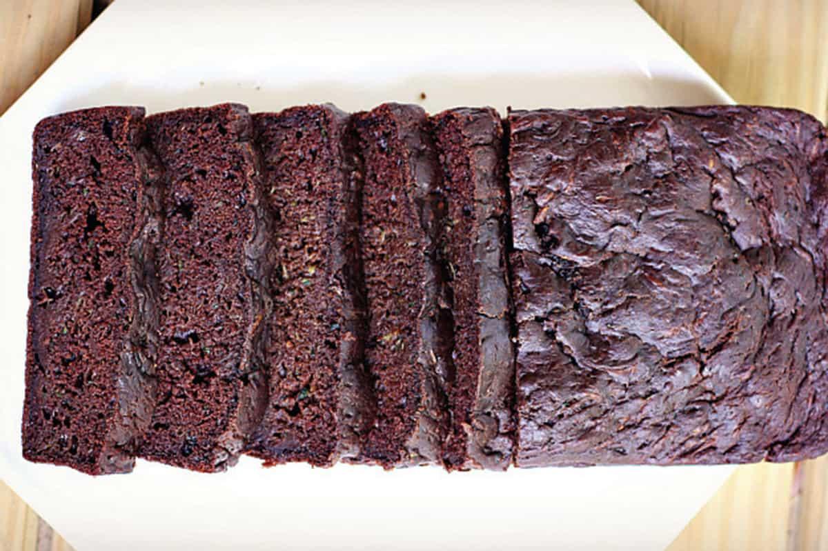 Chocolate Zucchini Bread Feature Image