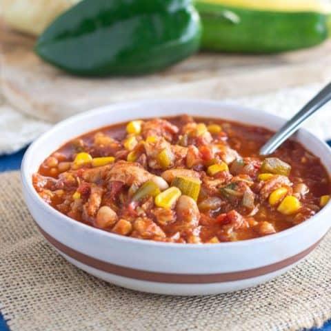 Chicken & White Bean Chili