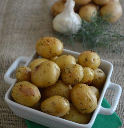 Dill & Garlic Roasted Potatoes