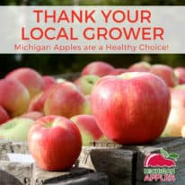 Thank Your Local Grower – Michigan Apples are a Healthy Choice!