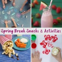 Spring Break Snacks & Activities