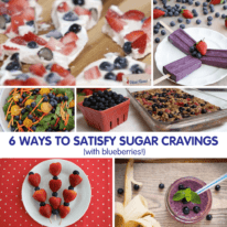 6 Ways to Satisfy Sugar Cravings with Blueberries