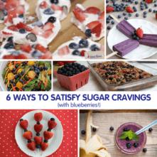 6 Ways to Satisfy Sugar Cravings with Blueberries