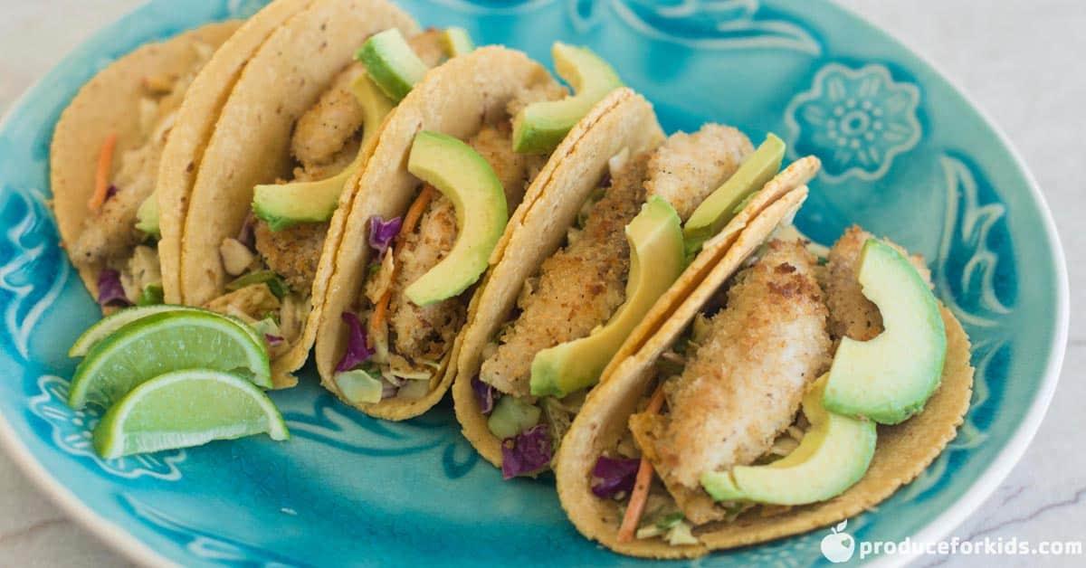 southwest crispy fish taco