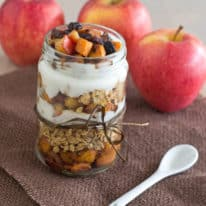 Sweet Potato & Apple Breakfast Parfait