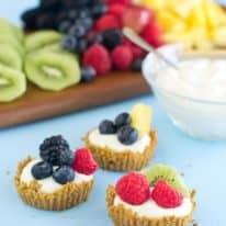 Mix & Match Mini Fruit Tarts