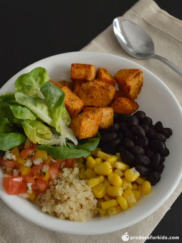 Southwest Sweet Potato Buddha Bowl