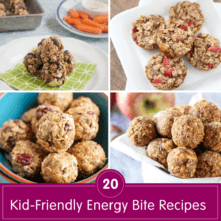 20 Kid-Friendly Energy Bite Recipes