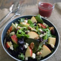 Apple, Walnut & Feta Salad