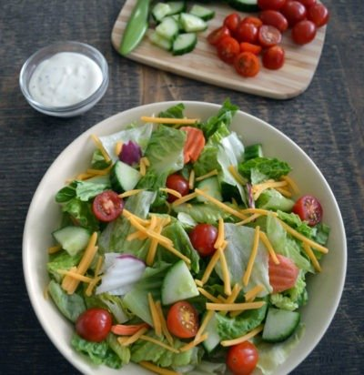 Easy Side Salad