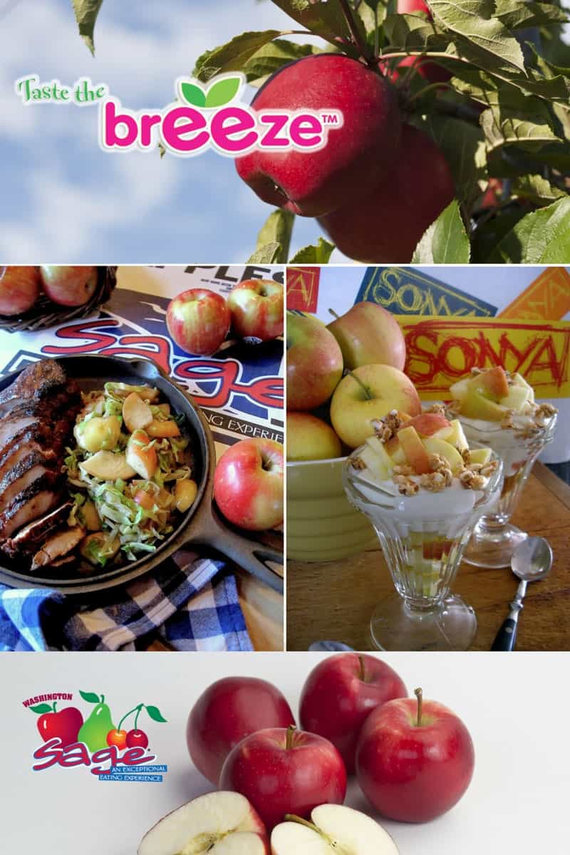 Taste the Breeze, a new apple variety from Sage Fruit