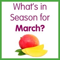 What's in Season for March?