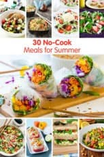 30 No-Cook Meals for Summer