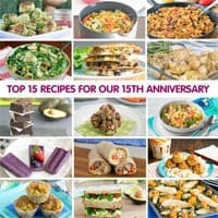 Top 15 Recipes for Our 15th Anniversary