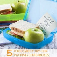 5 Food Safety Tips for Packing Lunchboxes
