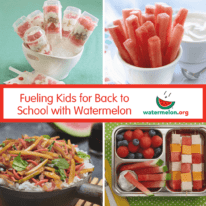 Fueling Kids for Back to School with Watermelon