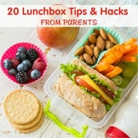 20 Lunchbox Tips & Hacks from Parents to Power Your Lunchbox