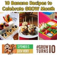 10 Banana Recipes to Celebrate GROW Month