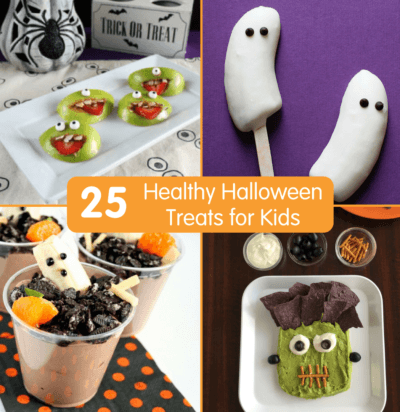 25 Healthy Halloween Treats for Kids