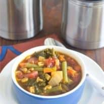Alphabet Vegetable Soup