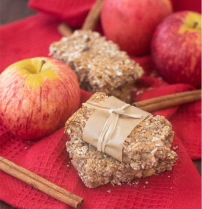 Apple Pie Snack Bars