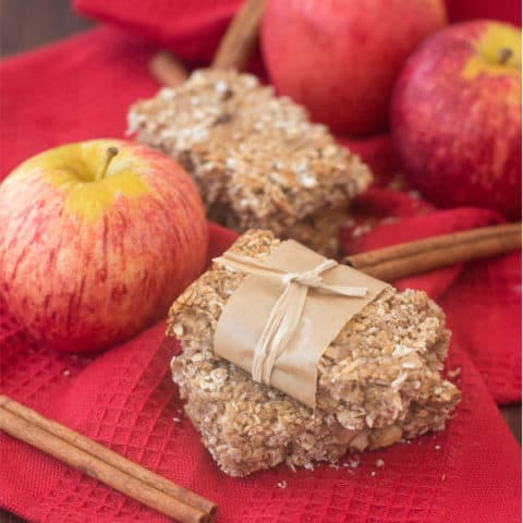 Apple Pie Snack Bars