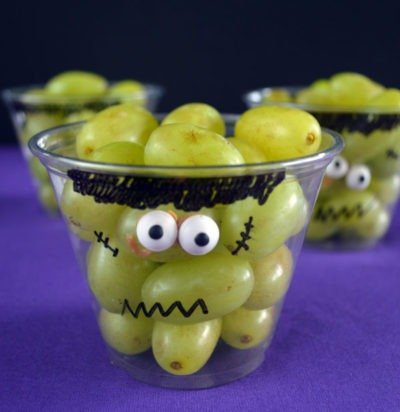 Frankenstein Grape Cups