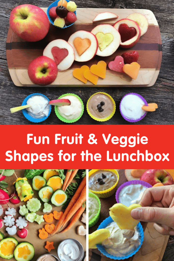 Fun Fruit & Veggie Shapes for the Lunchbox
