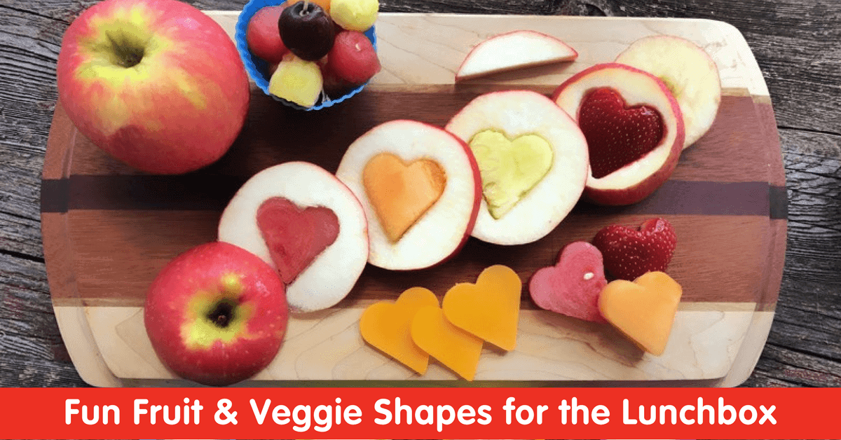Fun Fruit & Veggie Shapes for the Lunchbox | Produce for Kids